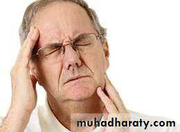 Head ache and facial pain